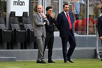 Marco Fassone, Massimiliano Mirabelli  e Vincenzo Montella