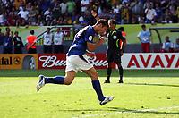 Foto Omega/Colombo<br /> 26/06/2006 Campionati Mondiali di Calcio 2006<br /> Ottavi di Finale <br /> Italia -Australia  <br /> nella foto : Francesco Totti esulta dopo il gol