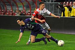 14-04-2010 VOETBAL: FC UTRECHT - FC GRONINGEN: UTRECHT<br /> Koen van de Laak en Dries Mertens<br /> ©2010-WWW.FOTOHOOGENDOORN.NL