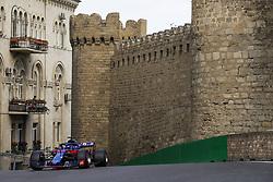 April 28, 2018 - Baku, Azerbaijan - HARTLEY Brendon (nzl), Scuderia Toro Rosso Honda STR13, action during the 2018 Formula One World Championship, Grand Prix of Europe in Azerbaijan from April 26 to 29 in Baku  (Credit Image: © Hoch Zwei via ZUMA Wire)
