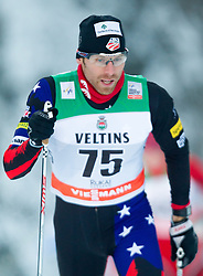 30.11.2014, Nordic Arena, Ruka, FIN, FIS Weltcup Langlauf, Kuusamo, 15 km Herren, im Bild Andrew Newell (USA) // Andrew Newell of the USA during Mens 15 km Cross Country Race of FIS Nordic Combined World Cup at the Nordic Arena in Ruka, Finland on 2014/11/30. EXPA Pictures © 2014, PhotoCredit: EXPA/ JFK