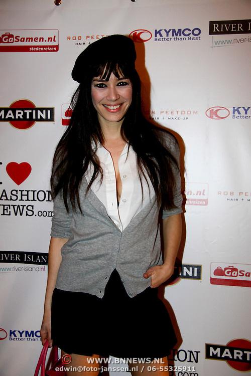 NLD/Amsterdam/20100215 -  inloop verkiezing Miss i Love Fashion, Beertje van Beers