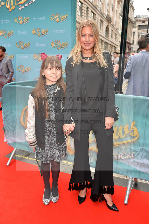 Marissa Montgomery and guest arriving at The opening night of Wind in The Willows at the London Palladium, Argyll Street, London England. 29 June 2017.<br /> Photo by Dominic O'Neill/SilverHub 0203 174 1069 sales@silverhubmedia.com