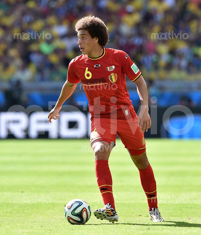 FUSSBALL WM 2014  VORRUNDE    Gruppe H     Belgien - Algerien                       17.06.2014 Axel Witsel (Belgien) am Ball
