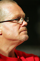 Freddie Roach the trainer of Manny Pacquiao. Manny Pacquiao v Ricky Hatton press conference, MGM Grand, Las Vegas, Nevada, 29th April 2009.