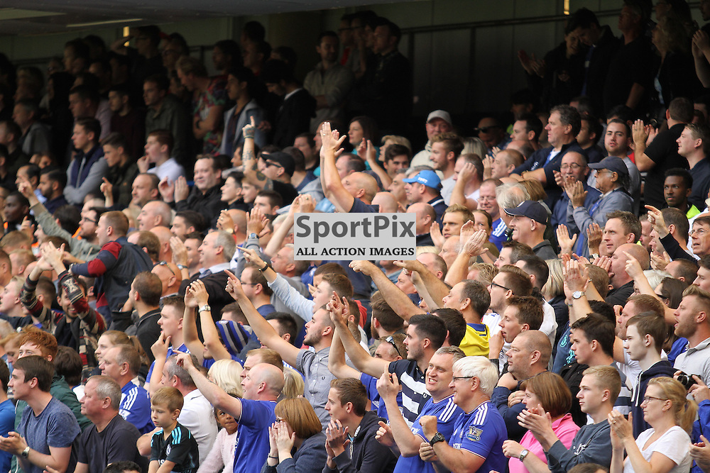 Chelsea fans in full voice at Stamford Bridge