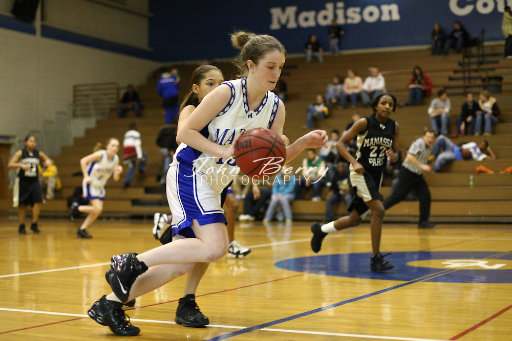 MCHS JV Girls Basketball.vs Manassas Park.2/1/2008..