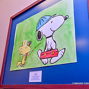 Peanuts Art Exhibit