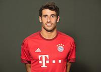 German Soccer Bundesliga 2015/16 - Photocall of FC Bayern Munich on 16 July 2015 in Munich, Germany: Javi Martinez