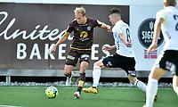 Fotball , 29. juli 2020 , Eliteserien  ,  Mjøndalen - Odd<br /> Alexander Betten Hansen , MIF