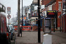 UK ENGLAND COVENTRY 17MAR15 - Street scene in the target area for mystery shopping for illegal and untaxed cigarettes in Coventry, England.<br /> <br /> <br /> jre/Photo by Jiri Rezac<br /> <br /> © Jiri Rezac 2015