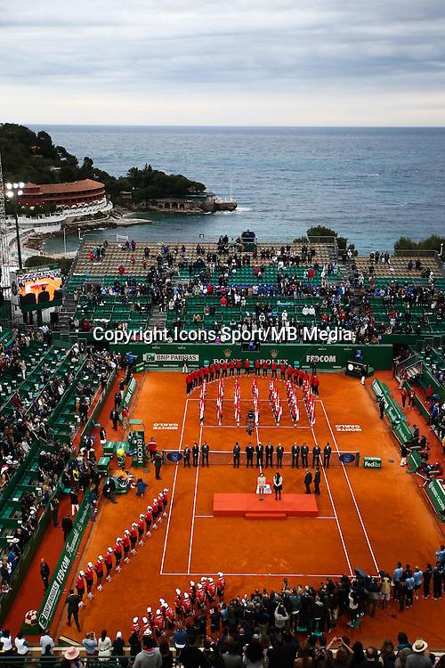 Remise Prix Tennis Monte Carlo - 19.04.2015 - Tournoi de Monte Carlo 2015 - Masters 1000 <br />Photo : Serge Haouzi / Icon Sport