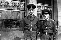Young men in uniform<br />