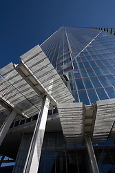 UK ENGLAND LONDON 21APR15 - Exterior view from ground level of the Shard. The Shard is an 87-storey skyscraper in Southwark, London, that forms part of the London Bridge Quarter development. <br /> <br /> Standing 306 metres high, the Shard is currently the tallest building in the European Union.<br /> <br />  <br /> <br /> jre/Photo by Jiri Rezac<br /> <br /> <br /> <br /> © Jiri Rezac 2015