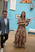 Roksanda Illincic, Royal Academy Summer Exhibition party. Burlington House. Piccadilly. London. 6 June 2018