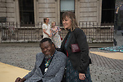 YINKA SHONIBARE, Royal Academy of arts summer exhibition summer party. Piccadilly. London. 4 June 2019