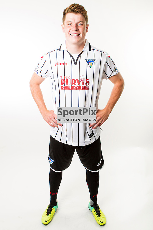 DAFC Photocall East End Park 11 July 2014<br /> Alex Whittle<br /> (c) CRAIG BROWN | SportPix.org.uk
