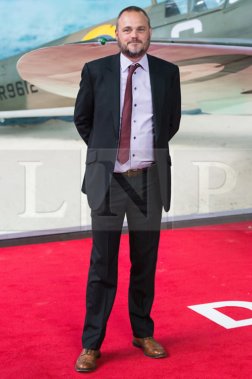 © Licensed to London News Pictures. 13/07/2017. London, UK. AL MURRAY attends the Dunkirk World Film Premiere. Photo credit: Ray Tang/LNP