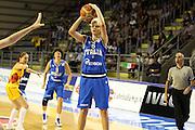 Taranto 08-06-2011<br /> Qualifying Tournament Eurobasket Women 2011<br /> Italia-Romania<br /> Nella foto Sabrina Cinili<br /> Foto di Ciamillo-Castoria