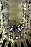Frankrijk, Amiens, 13-5-2013Interieur van de gotische kathedraal uit de 13e eeuw.Foto: Flip Franssen/Hollandse Hoogte