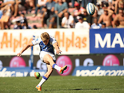 James O'Conner slots a penalty during the Super Rugby (Super 15) fixture between DHL Stormers and the The Force played at DHL Newlands in Cape Town, South Africa on 26 March 2011. Photo by Jacques Rossouw/SPORTZPICS
