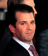 Donald Trump jr. before President Donald Trump announces his nomination federal appeals Judge Neil Gorsuch to the U.S. Supreme Court in the East Room of the White House on January 31, 2017<br /> <br /> Photo by Dennis Brack