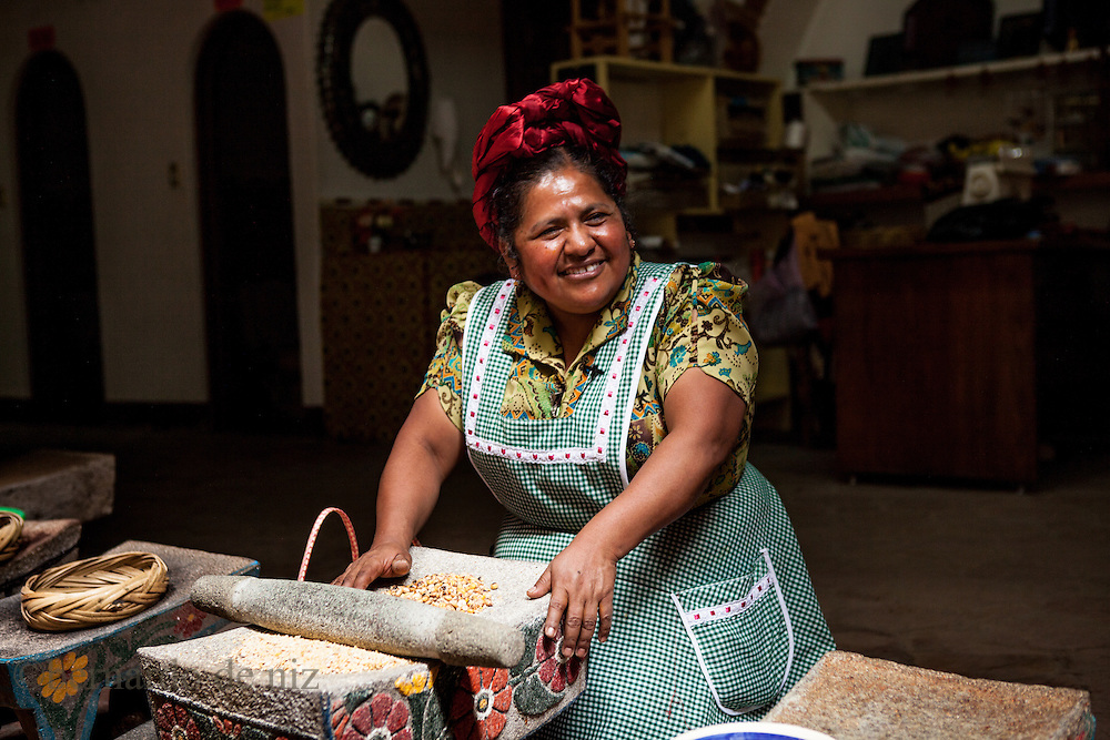 Abigail Mendoza Ruiz, a cook of traditional prehispanic food, cooks in Teotitlan del Valle, in Oaxaca in southwestern Mexico is considered one of the culinary capitals of Mexico. The mountainous state is home to one of the largest indigenous populations in Mexico, which has created a rich and diverse cuisine. Oaxacan food has made its mark on the global food map and drawn praise from international food experts and chefs -- and is one of the key reasons many foreign and local tourists visit the region. The story would feature interviews with local chefs, including a female chef from the Zapotecas indigenous group who is trying to preserve the pre-hispanic cooking style and a male chef who owns the most expensive and most famous restaurant in Oaxacca, plus a woman who runs a cooking school and local tourists. Lots of colour and incredible dishes.