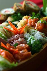 Combinado especial de sushi, no restaurante GOKAN, em Porto Alegre. FOTO: Jefferson Bernardes/Preview.com
