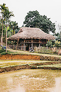 Dao village nearby La Vie Eco Resort, Thac Ba Lake