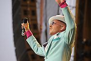 Jan Delay & Disco No.1 Endstation in Hamburg Bahrenfeld, Trabrennbahn. Foto Ruediger Knuth