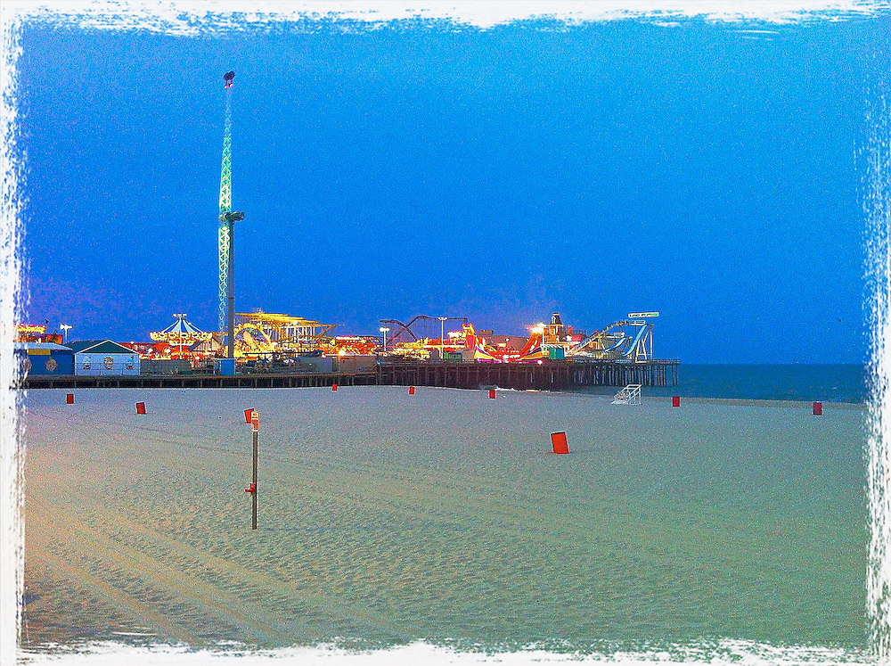 Funtown Pier at Seaside Heights,NJ.2011
