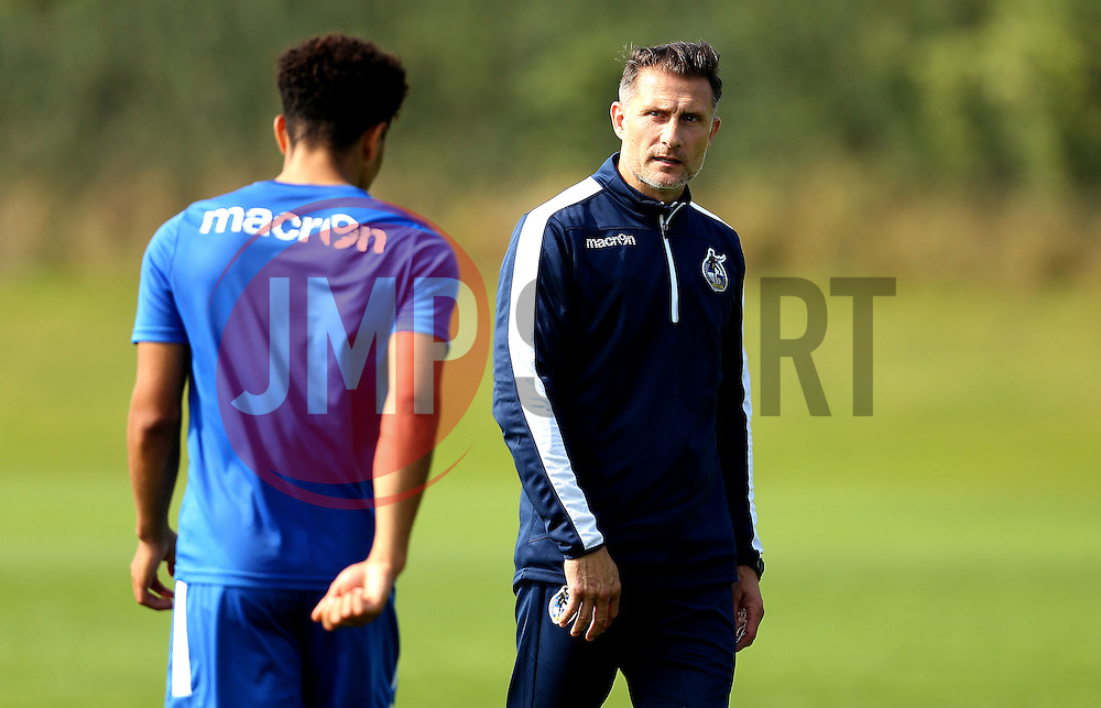 Bristol Rovers coach Chris Hargreaves - Mandatory by-line: Robbie Stephenson/JMP - 15/09/2016 - FOOTBALL - The Lawns Training Ground - Bristol, England - Bristol Rovers Training