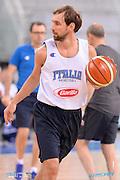 DESCRIZIONE: Torino FIBA Olympic Qualifying Tournament <br /> GIOCATORE: Giuseppe Poeta<br /> CATEGORIA: Nazionale Italiana Italia Maschile Senior Allenamento<br /> GARA: FIBA Olympic Qualifying Tournament Allenamento<br /> DATA: 04/07/2016<br /> AUTORE: Agenzia Ciamillo-Castoria