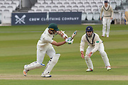 Colin Ackemann on the attack during the Specsavers County Champ Div 2 match between Middlesex County Cricket Club and Leicestershire County Cricket Club at Lord's Cricket Ground, St John's Wood, United Kingdom on 17 May 2019.