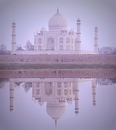 The Taj Mahal, UNESCO World Heritage Site, Agra,Uttar Pradesh, India,Asia (m)