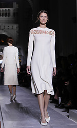 Models display creations of Valentino during Valentino's Spring/Summer 2013 Haute Couture fashion show in Paris, France, January 23, 2013. Photo by Imago / i-Images...UK ONLY