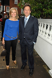 Actor MICHAEL BRANDON his wife actress GLYNIS BARBER at the annual Sir David & Lady Carina Frost Summer Party in Carlyle Square, London SW3 on 5th July 2007.<br /><br />NON EXCLUSIVE - WORLD RIGHTS