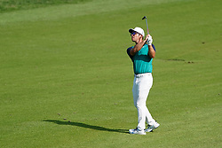 August 9, 2018 - St. Louis, Missouri, United States - Paul Casey hits a fairway shot during the first round of the 100th PGA Championship at Bellerive Country Club. (Credit Image: © Debby Wong via ZUMA Wire)
