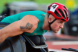 Patrick Monahan, IRE competing in the T53, 400m at the Berlin 2018 World Para Athletics European Championships
