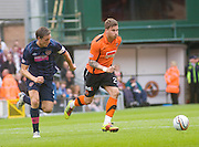 David Goodwillie and Darren Barr - Dundee United v Hearts, Clydesdale Bank Scottish Premier League at Tannadice Park..© David Young Photo.5 Foundry Place.Monifieth.Angus.DD5 4BB.Tel: 07765252616.email: davidyoungphoto@gmail.com.http://www.davidyoungphoto.co.uk