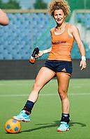 BRUSSEL -  Maria Verschoor (Ned)  tijdens training Oranje  bij de halve finale ronde Hockey World League (dames) . COPYRIGHT KOEN SUYK