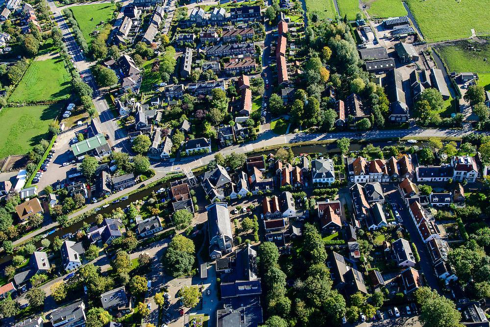Nederland, Utrecht, Gemeente De Ronde Venen, 27-09-2015; Baambrugge, beschermd dorpsgezicht.<br /> Dutch heritage village.<br /> <br /> luchtfoto (toeslag op standard tarieven);<br /> aerial photo (additional fee required);<br /> copyright foto/photo Siebe Swart