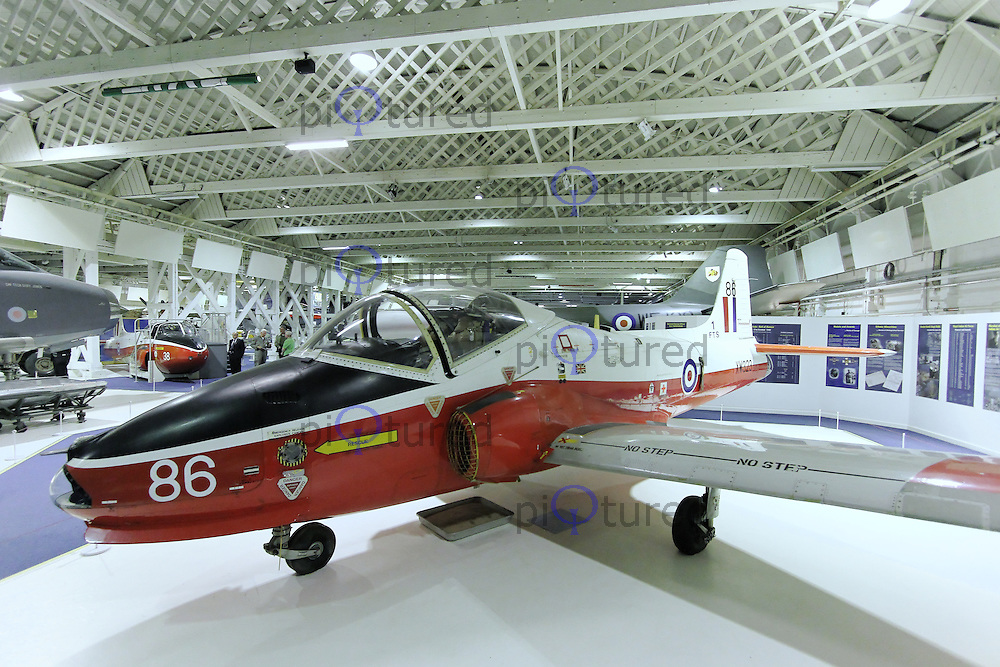 BAC Jet Provost T5A XW323, Royal Air Force Museum Hendon, Photography After Hours, 19 April 2013, (Photo by Richard Goldschmidt)