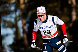 March 16, 2018 - Falun, SVERIGE - 180316 Emil Iversen, Norge, tÅvlar i sprintprologen under Svenska Skidspelen den 16 mars 2018 i Falun  (Credit Image: © Simon HastegRd/Bildbyran via ZUMA Press)