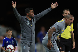 July 23, 2018 - Na - Faro, 07/22/2018 - Porto Clube faced the Everton Football Club in the Algarve Stadium tonight, in the Algarve Cup 2018 match. Sérgio Conceição  (Credit Image: © Atlantico Press via ZUMA Wire)