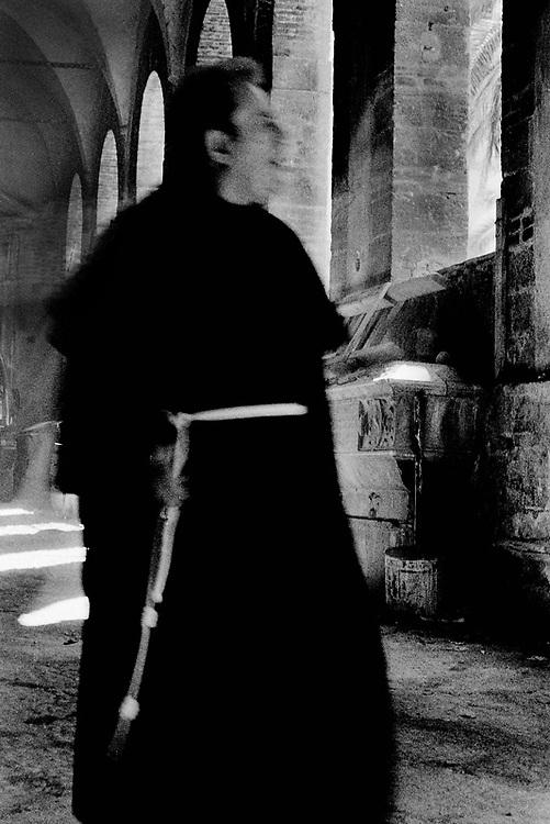 Priest in Naples