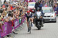 Bradley Wiggins wins Gold for Great Britain in the Men's Time Trial Olympic Cycling