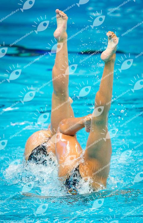 USA - United States of America<br /> ALVAREZ Anita<br /> KOROLEVA Mariya<br /> Duet Free Preliminary<br /> Day5 28/07/2015<br /> XVI FINA World Championships Aquatics<br /> Synchro<br /> Kazan Tatarstan RUS July 24 - Aug. 9 2015 <br /> Photo Pasquale Mesiano/Deepbluemedia/Insidefoto