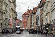 Herrengasse, UNESCO Welterbestätte Stadt Graz – Historisches Zentrum, Steiermark, Österreich | Herrengasse, UNESCO World Heritage Site city of Graz - Historic Centre, Steiermark, Austria