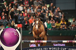 Twomey Billy, (IRL), Tinka's Serenade<br /> Longines FEI World Cup<br /> CSIO Leipzig 2016<br /> © Hippo Foto - Stefan Lafrentz